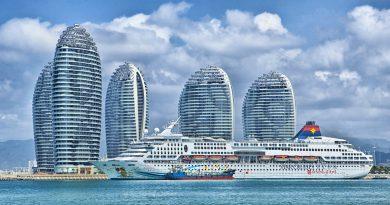 Кораб в Китай