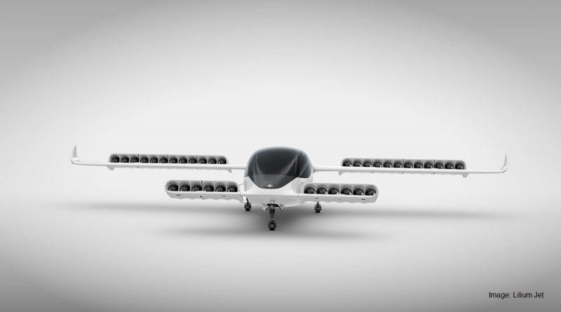 Модел на Lilium Jet