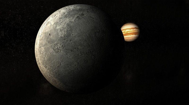 Луна и Земя