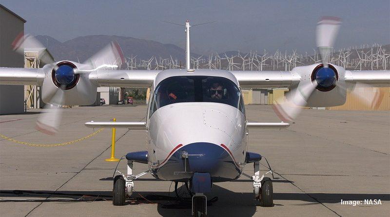 електрически самолет Х-57