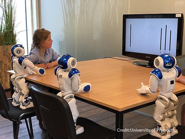 Деца и роботи