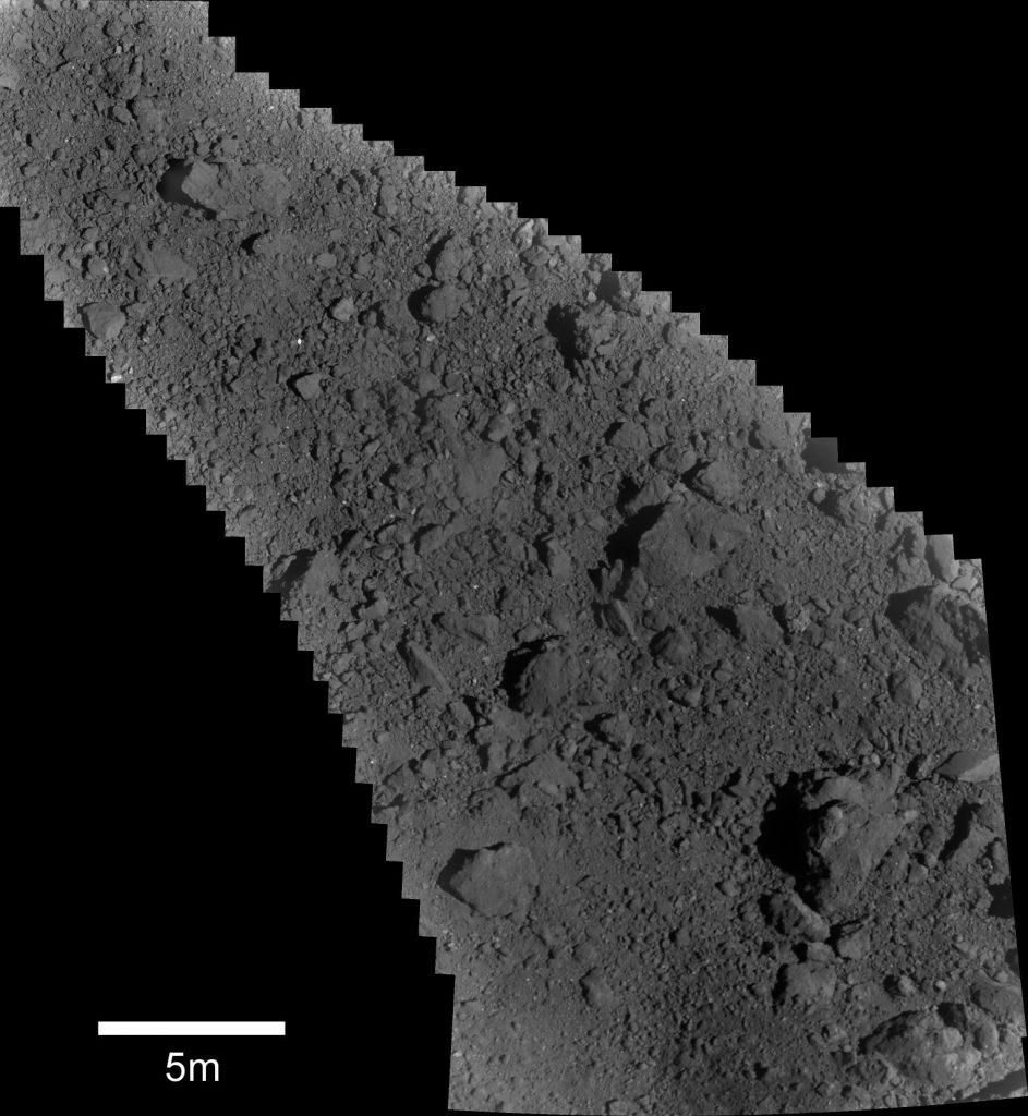 повърхност на астероид
