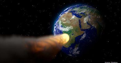 астероид към Земята