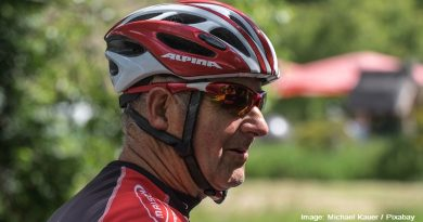 възрастен колоездач