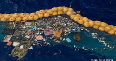 почистване на отпадъци в океана