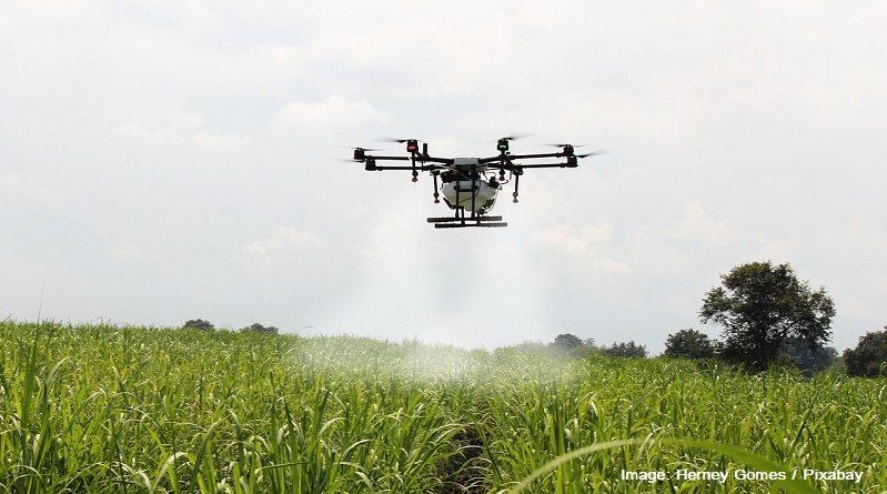 дрон в селското стопанство