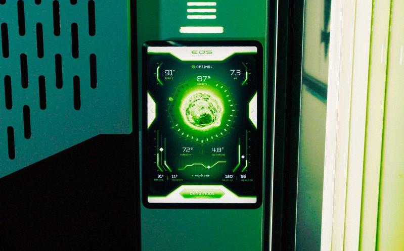 Пулт за упраление и контрол на Eos Bioreactor