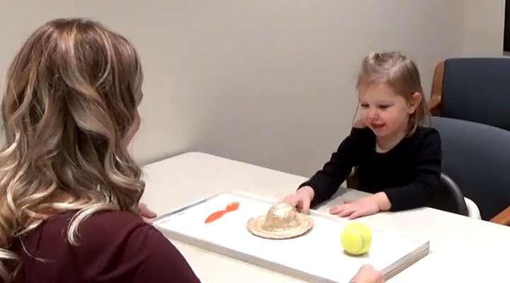 психологически експеримент с деца