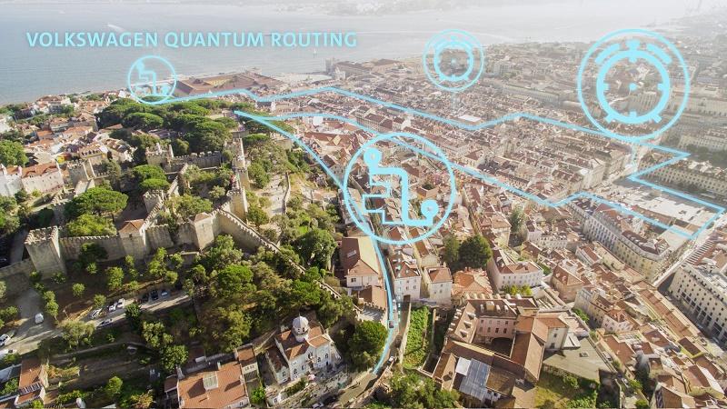 карта на Лисабон с маршрути