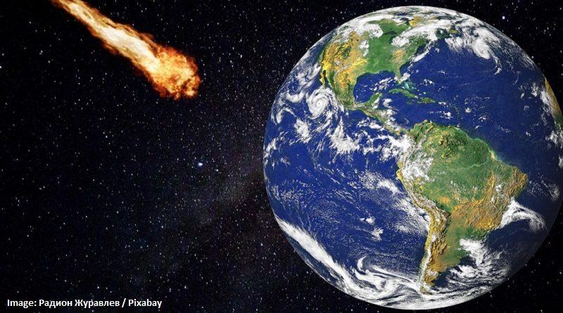 сблъсък на астероид със Земята