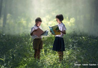 деца сред природата