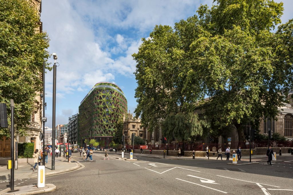 зелената сграда в градския ландшафт