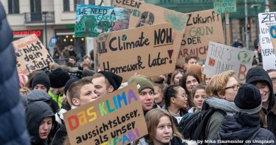 демонстрация на млади хора