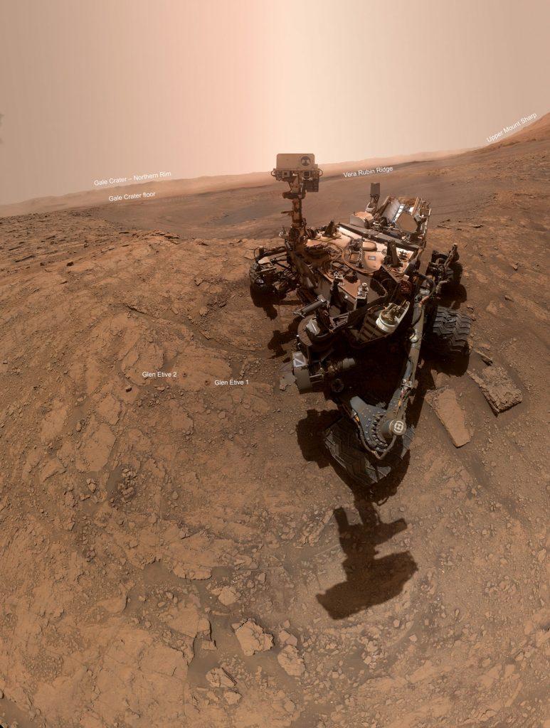 марсоходът Curiosity