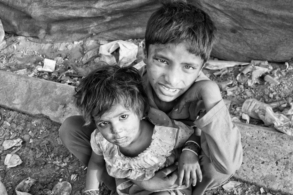 гладуващи деца