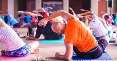 йога занимание