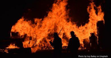 пожари в Австралия