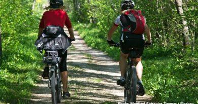 хора на велосипед