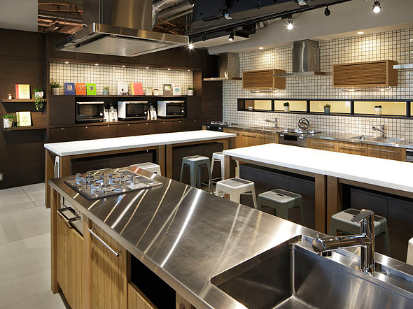 общствена кухня за кулинарни занимания