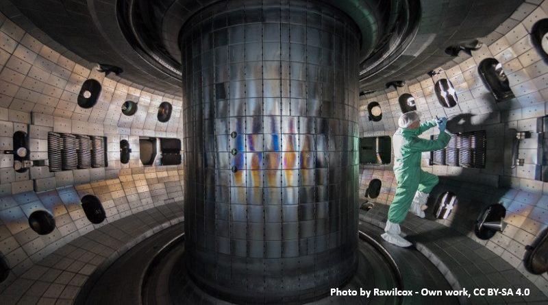 термоядрен реактор тип токамак