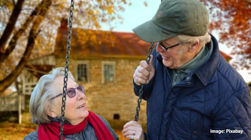 възрастни мъж и жена