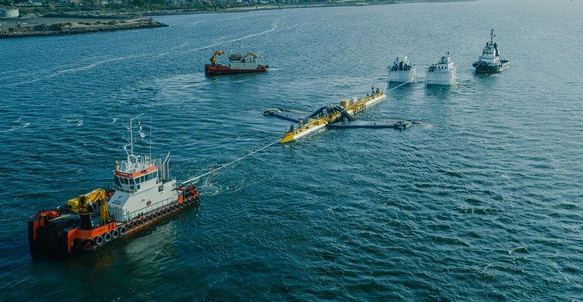 турбина, работеща за сметка на приливите