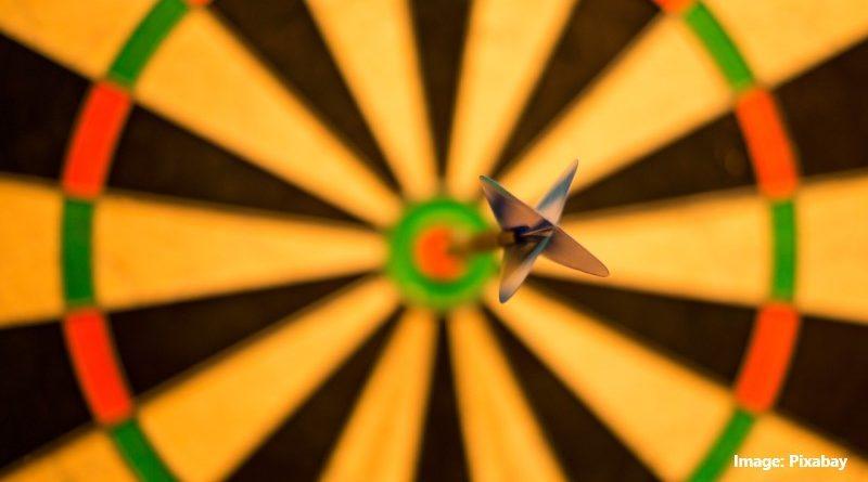 цел със стрела